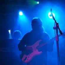 Fran Heredia hizo las guitarras para el disco de Un hombre afortunado.