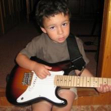 Mi nieto Elías también nos echó una mano...