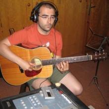 """Las estupendas guitarras que Samuel Blanco aportó al """" 30 Años"""""""